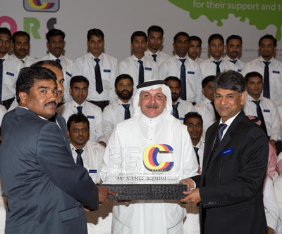SAGOLA celebrated the 25th anniversary of our Arabian Importer COLORS EST FOR PAINTS