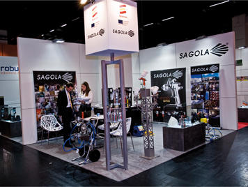 SAGOLA presenta sus últimas novedades en la Feria Practical World 2012 de Colonia (Alemania)