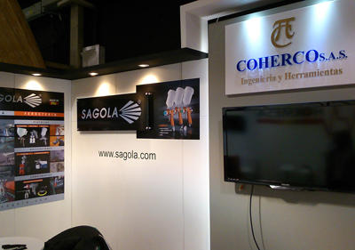 SAGOLA importer exhibits at XXX International Fair of BOGOTÁ