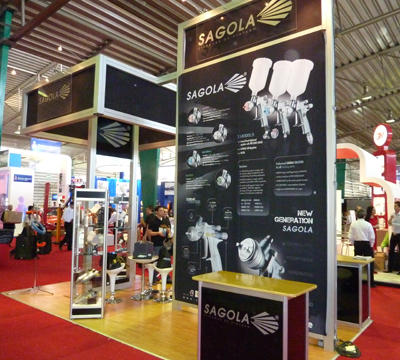 Sagola participates in the Expo Reparacion Automotriz 2010 with its exclusive importer Paint Shop