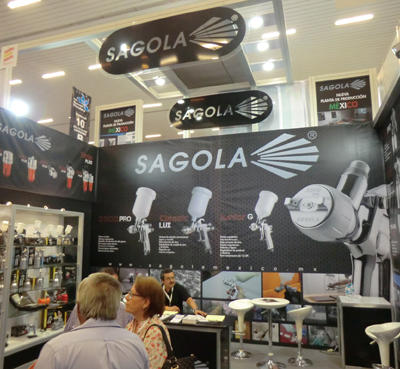 SAGOLA takes advantage of the EXPOFERRETERA of GUADALAJARA 2012 tradeshow to make known its new production plant in MEXICO