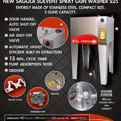 SAGOLA New Spray Gun Washer S25