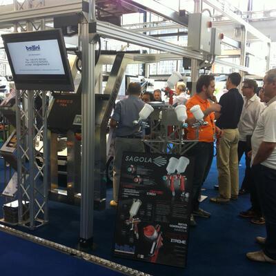 SAGOLA y BELLINI presentan la 4500 XTREME y la nueva línea de FILTROS SERIE 5000 en la Feria AUTOPROMOTEC ITALIA
