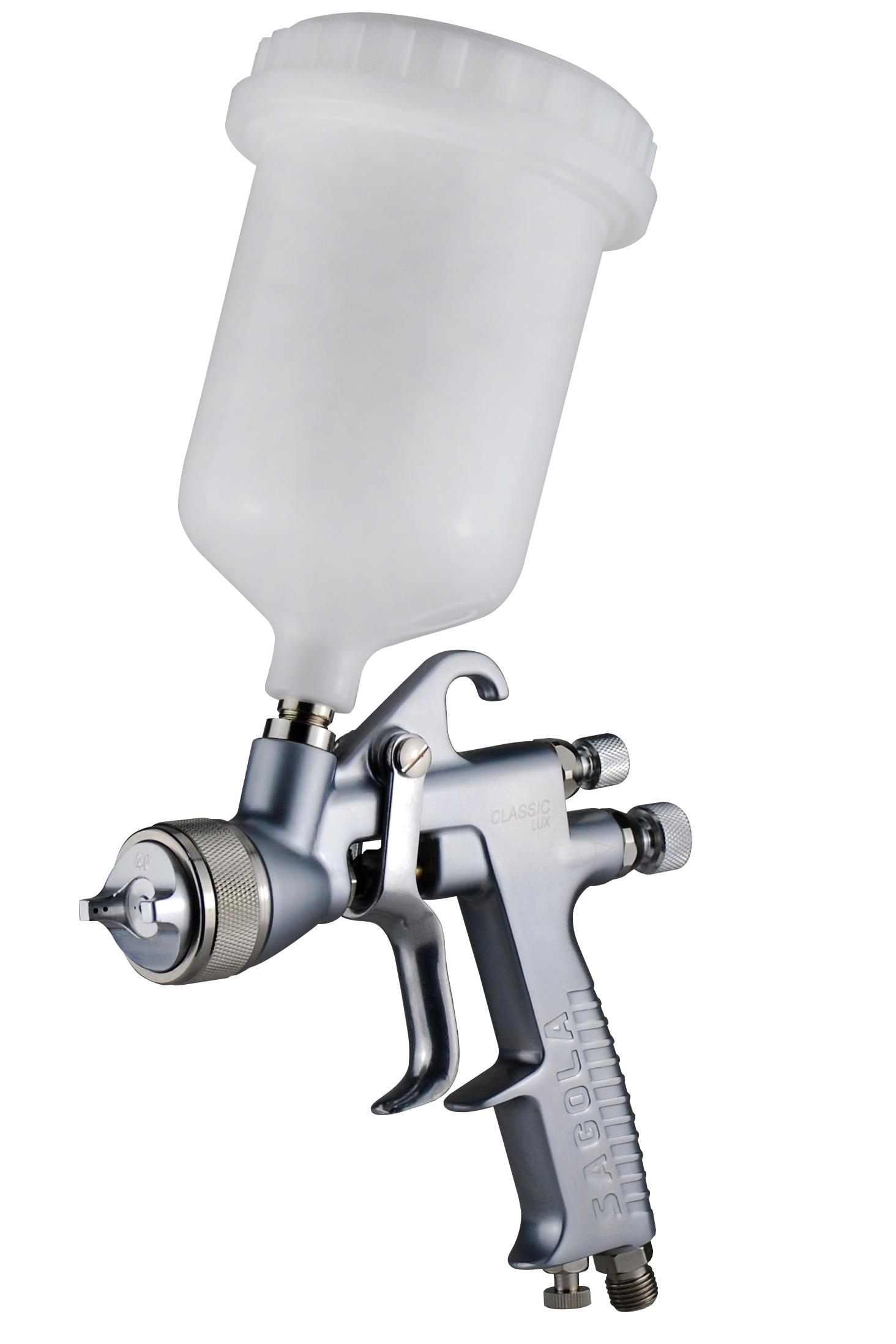 Boquilla Boquilla 40 Sagola M260562 Pistola aerogr/áfica de gravedad Capacidad del dep/ósito  650 ml